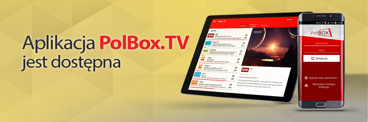 PolBox TV | Polish online television abroad, HD Internet TV